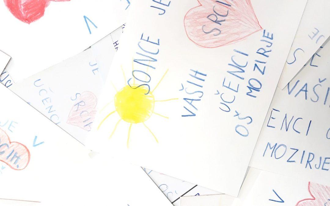 Sonce je v vaših srcih